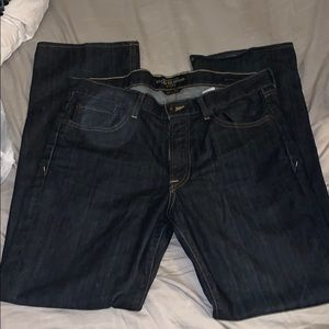 Authentic Lucky Brand dark wash jeans